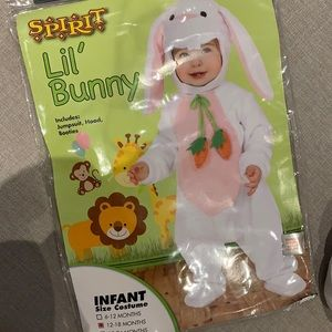 Baby Bunny Halloween Costume 12-18months